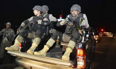 Three terrorists killed in encounter with security forces in DG Khan
