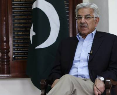 FM Khawaja Asif leaves for Moscow on four-day visit