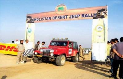 Nadir Magsi wins 13th Cholistan Jeep Rally for 2nd consecutive year