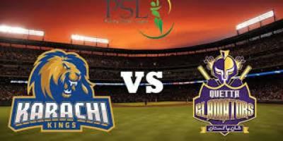 PSL 3: Karachi Kings beat Quetta Gladiators by 19 runs
