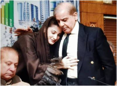 Maryam congratulates Shahbaz after his appointment as PML-N president