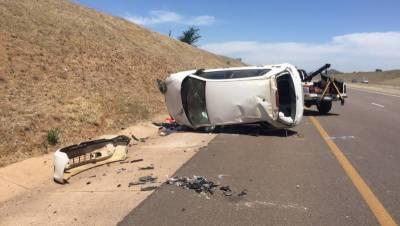Four killed, one injured in road mishap near Chakwal