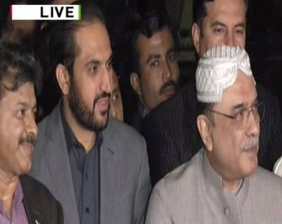 Bilawal Bhutto Zardari to finalise PPP candidate for Senate chairman: Zardari
