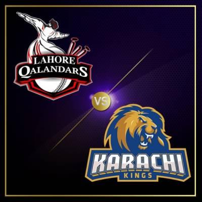 PSL 3, 24th match: Karachi Kings vs Lahore Qalandars today