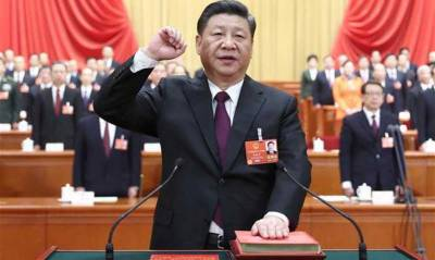 Xi Jinping takes oath as Chinese President for 2nd term
