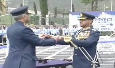 Mujahid Anwar Khan takes up office of air staff