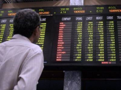 KSE-100 Index gains 176 points on first day of week