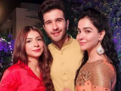 Humaima Malik shares pictures of Feroz Khan's 'Mehndi'