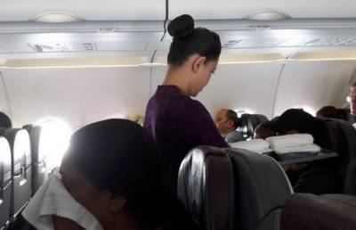 62-year-old man arrested for inappropriately touching air hostess