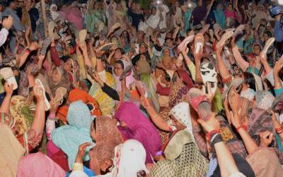 LHWs protest on Mall Road enters in 5th day