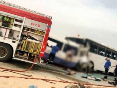 3 Pakistanis among 15 killed in bus crash in Kuwait