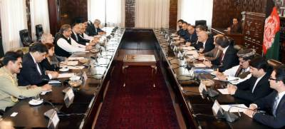 Pak, Afghan reaffirm to achieve regional security through connectivity