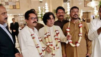 Pics: 57-year-old unmarried MQM-P leader ties the knot