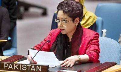 Maleeha Lodhi reminds UN its responsibilities to address Kashmir issue