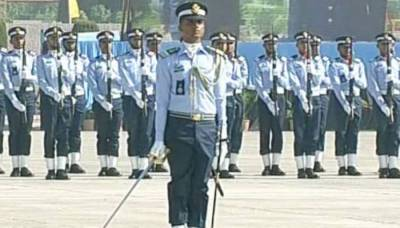 Passing out parade of GD pilots held at Asghar Khan Academy