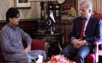 Shehbaz once again meets disgruntled Ch Nisar
