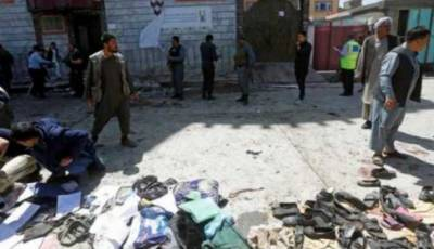 Death toll reaches 48 in suicide attack on Kabul election center