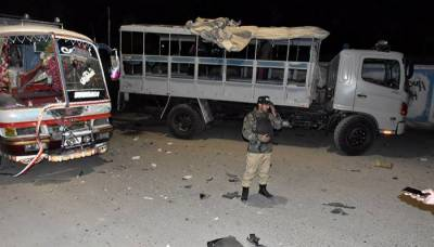 4 FC personnel martyred, 51 injured in road accident