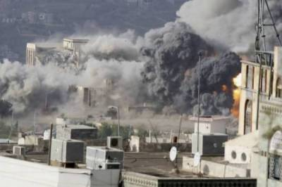 Saudi air strikes target wedding ceremony, kill 20 including Houthi leader