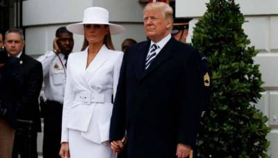 Watch: what Melania did with Trump this time!