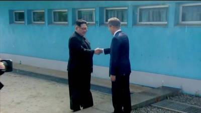 Watch: Korean leaders Un, Jae-in meet after 65 years