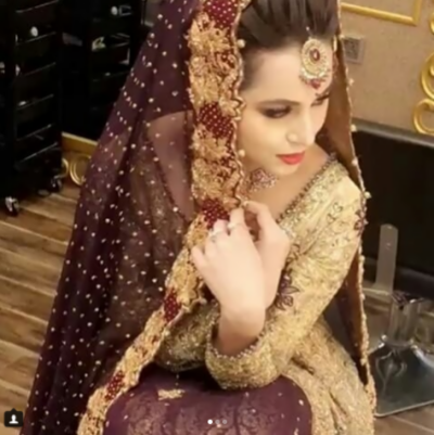 Nimra khan's pictures in bridal dress go viral