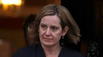 UK's home secretary resigns