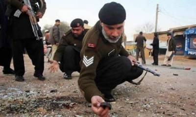 Policeman martyred, six injured in IED blast in Bannu