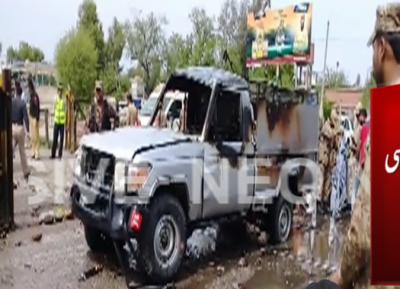 3 killed, 8 injured in Nowshera suicide blast