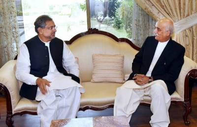 Abbasi, Khursheed Shah fail to reach consensus over caretaker PM