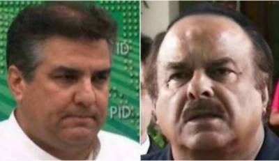 Watch: PTI's Naeem-ul-Haq slaps PML-N's Daniyal Aziz in a TV show
