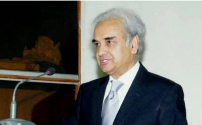Caretaker PM Justice (r) Nasirul Mulk visits his native city