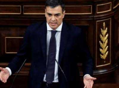 Pedro Sanchez takes oath as new Spanish PM