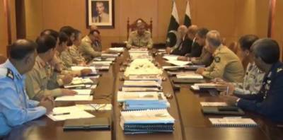 Army chief Bajwa chairs board of governors' meeting of NUTECH
