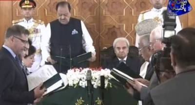 Six-member caretaker federal cabinet takes oath