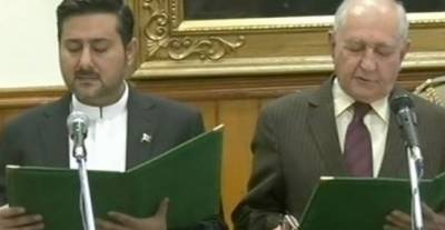 Alauddin Marri takes oath as caretaker CM of Balochistan