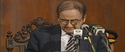 Hassan Askari sworn in as Punjab interim CM