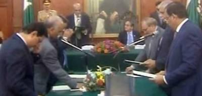 Six-member cabinet of Punjab's caretaker CM takes oath