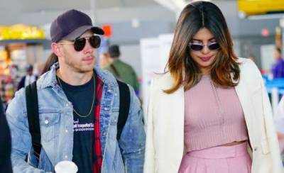 Watch: Priyanka Chopra and Nick Jonas make first public appearance
