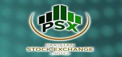 KSE-100 index ends below 41,718 points level