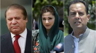 Nawaz jailed for 10-year, Maryam for 7-year in Avenfield case