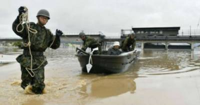 38 killed, dozens missing as torrential rain pounds Japan
