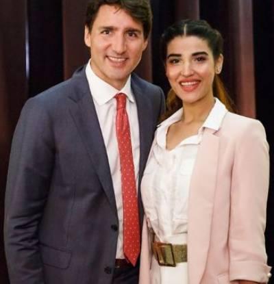 Hareem Farooq meets Canadian PM