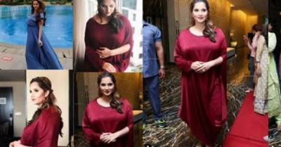 Pics: Sania Mirza's new look during pregnancy