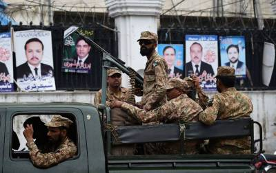 Three Army troops martyred while escorting polling staff: ISPR
