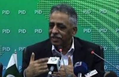 Sindh governor Muhammad Zubair resigns