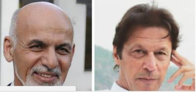 Afghan president congratulates Imran Khan on polls victory