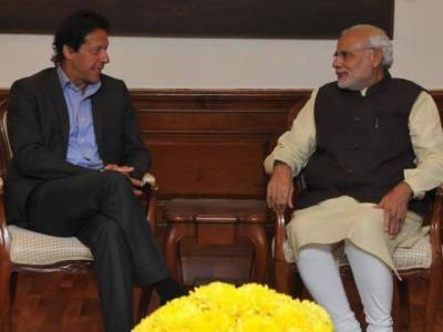 Indian PM Narendra Modi congratulates Imran Khan on election victory