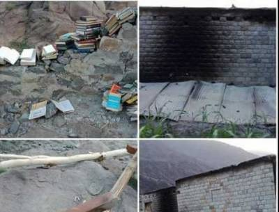 At least 12 schools burnt down in Gilgit-Baltistan's Diamer district