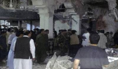 Twin suicide blasts during Friday prayers claim 25 lives